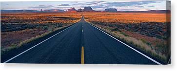 Road Az Canvas Print