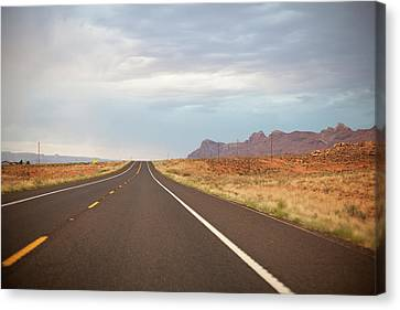 Road Canvas Print by Elena Fantini