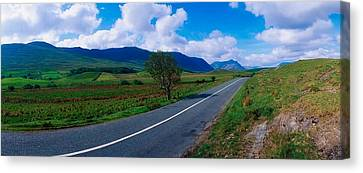 Road From Westport To Leenane, Co Mayo Canvas Print by The Irish Image Collection