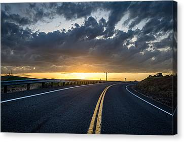 Road Home Canvas Print