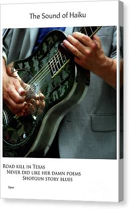 Road Kill In Texas  Canvas Print