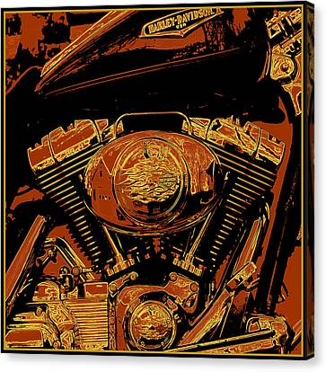 Road King Canvas Print by Gary Grayson