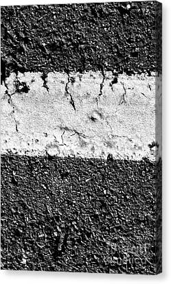Road Line And Pavement Details Canvas Print by Jorgo Photography - Wall Art Gallery