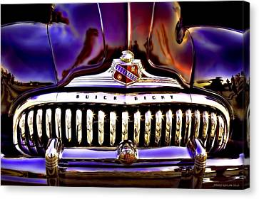 Road Master Canvas Print by Jerry Golab