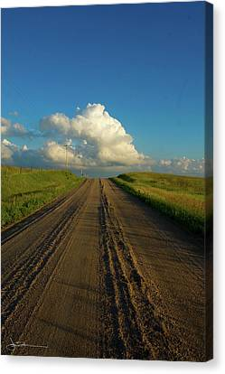 Road To Cumulus Canvas Print