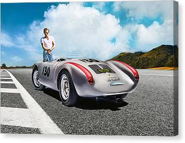 Road To Eternity Canvas Print by Peter Chilelli