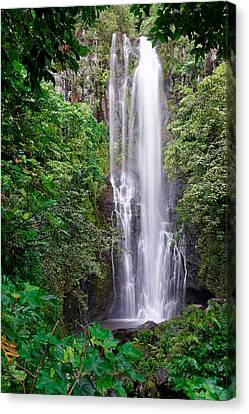 Maui - Road To Hana #2 Canvas Print by Francesco Emanuele Carucci