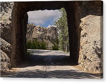Road To Mt. Rushmore Canvas Print