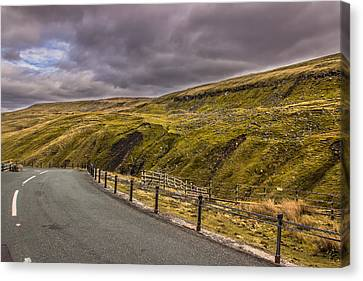Road To No Where Canvas Print by David Warrington