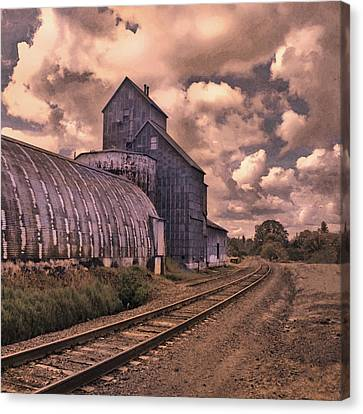 Road To Nowhere Canvas Print by Jeff Burgess