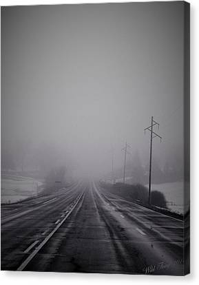 Road To Nowhere Canvas Print by Wild Thing