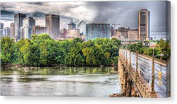 Road To Richmond Canvas Print by JC Findley