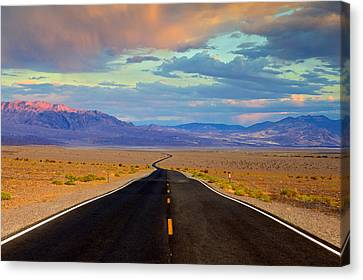 Canvas Print featuring the photograph Road To The Dreams by Evgeny Vasenev