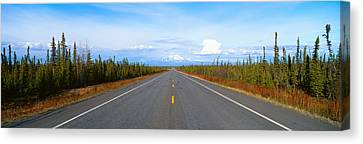 Road To Wrangell, St. Elias National Canvas Print by Panoramic Images