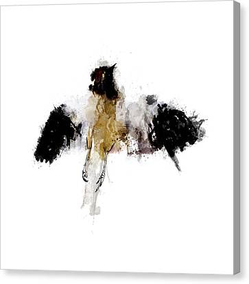 Nature Abstracts Canvas Print - Roadkill A Mockingbird by Nicholas Ely