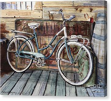Roadmaster Bicycle Canvas Print