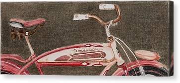Roadmaster Canvas Print by Glenda Zuckerman
