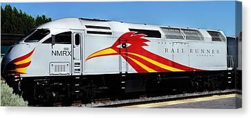 Roadrunner Train Canvas Print