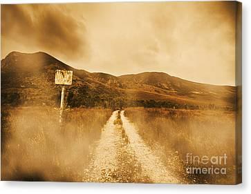Roads Of No Return Canvas Print