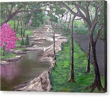 Roadside Park 1  Canvas Print