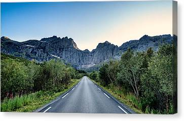 Roadtrip Canvas Print by Tor-Ivar Naess