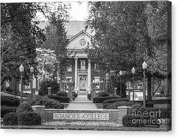 Administration Building Roanoke College Canvas Print by University Icons