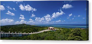 Roatan Lookout Canvas Print by Ryan Heffron