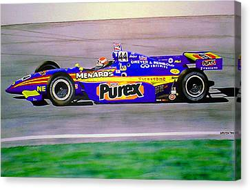 Robbie Buhl - Orlando Indy Car Winner Canvas Print