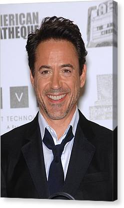 Robert Downey Jr. In Attendance Canvas Print by Everett