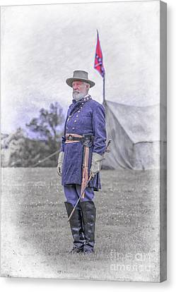 Robert E. Lee Canvas Print by Randy Steele