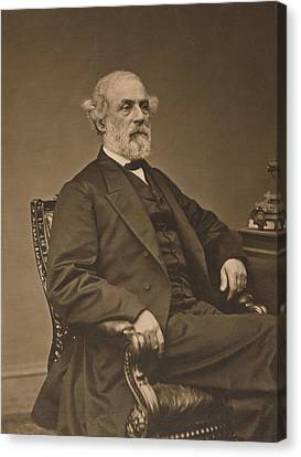 Robert Edward Lee 1807-1870 Canvas Print by Everett