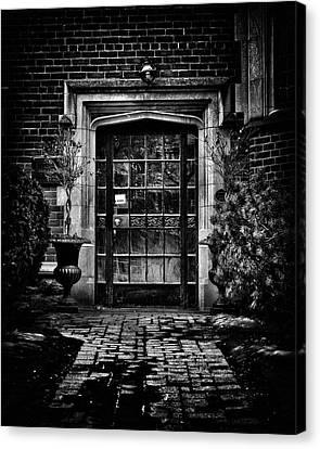 Robert Laidlaw House 35 Jackes Ave Toronto Canada Canvas Print by Brian Carson