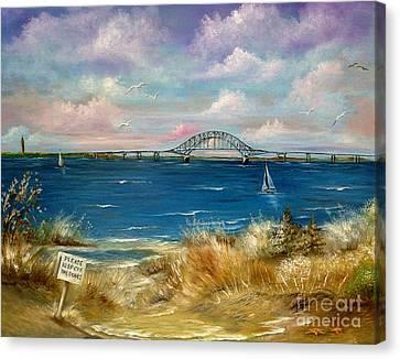 Robert Moses Bridge Canvas Print