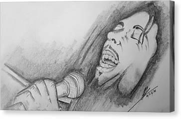 Robert Nesta Marley  Canvas Print by Collin A Clarke