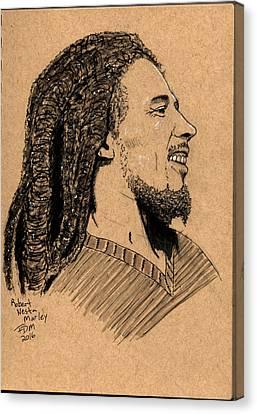 Robert Nesta Marley Canvas Print