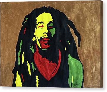 Robert Nesta Marley Canvas Print