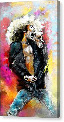 Robert Plant 03 Canvas Print