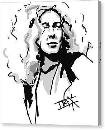 Robert Plant Canvas Print by Danielle LegacyArts