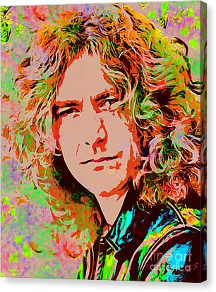 Robert Plant Canvas Print by Sergey Lukashin