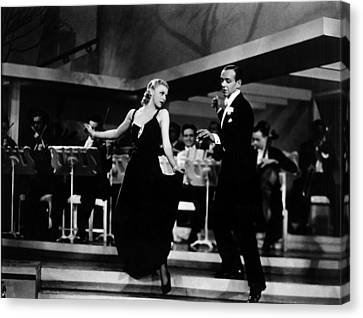 Roberta, Ginger Rogers, Fred Astaire Canvas Print by Everett