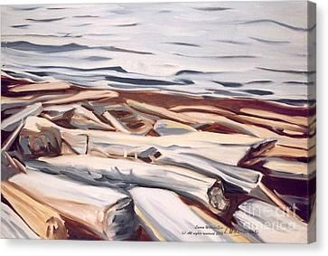 Roberts Creek, Sunshine Coast, B.c. Canvas Print