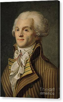 Robespierre Canvas Print by French School