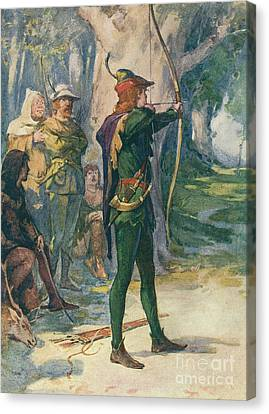 Robin Hood Canvas Print by Robert Hope