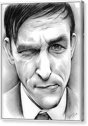 Penguin Canvas Print - Robin Lord Taylor II by Greg Joens