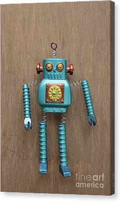 Robot  Canvas Print by Edward Fielding