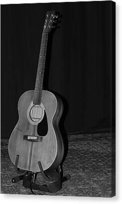 Robyn Hitchcock's Guitar Canvas Print by Lauri Novak