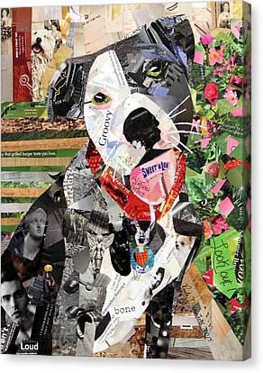 Rocco Canvas Print by Paula Dickerhoff