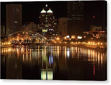 Rochester On The Genesee Canvas Print