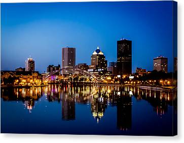 Rochester Reflections Canvas Print by Sara Frank