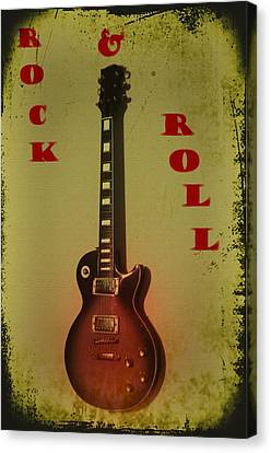 Rock And Roll Canvas Print by Bill Cannon
